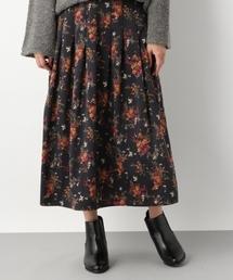 LEPSIM(レプシィム)のフラワープリントロングスカート 769160(スカート)