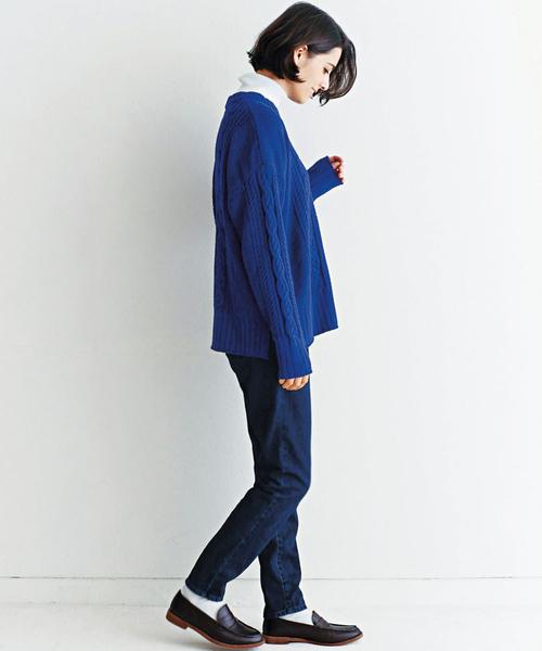 and myera 賢く見えるセーター