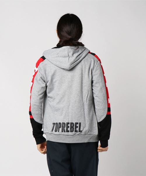 RebeL Switching TopRebel  ジップパーカー