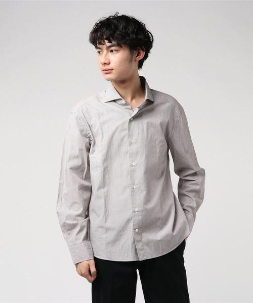 【予約販売】本 Giannetto/ジャンネット/stripe shirts/ストライプシャツ, marumoshirt 2ae0ebe3