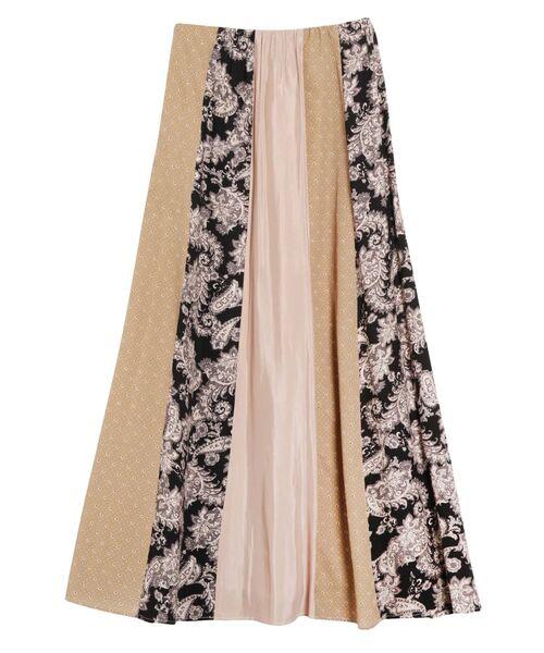 ファッション ミックスパターンパネルスカート(スカート)|LAGUNAMOON(ラグナムーン)のファッション通販, SATO SHOES STUDIO:b16af49b --- munich-airport-memories.de