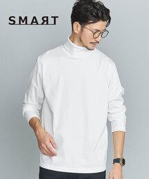 【WEB限定 WARDROBE SMART】 by クリア ガスコットン タートルネックカットソー