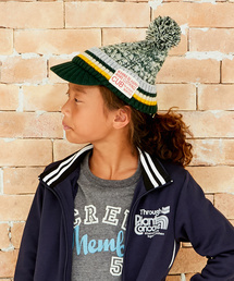 CUB by KRIFF MAYER(カブバイクリフメイヤー)のBEATキャップ ジュニア ニット帽 ニットキャップ 帽子 (ニットキャップ/ビーニー)