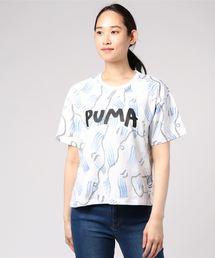 PUMA(プーマ)の「PUMA X SHANTELL MARTIN TEE (WOMEN)(Tシャツ/カットソー)」