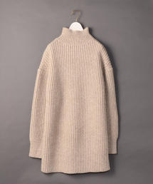 <6(ROKU)>AZE TURTLE NECK KNIT/ニット