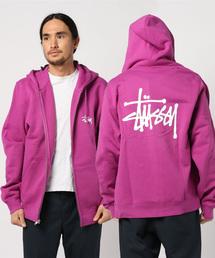 STUSSY(ステューシー)のBasic Stussy Zip Hood(パーカー)