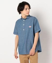 Danton(ダントン)の★【DANTON/ダントン】丸襟半袖シャツ JD-3569COC(シャツ/ブラウス)