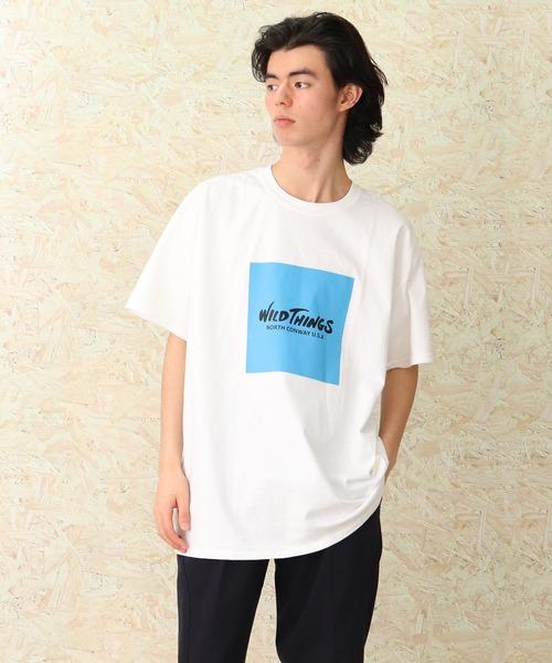 【 WILD THINGS / ワイルドシングス 】プリントTシャツ WTST-004