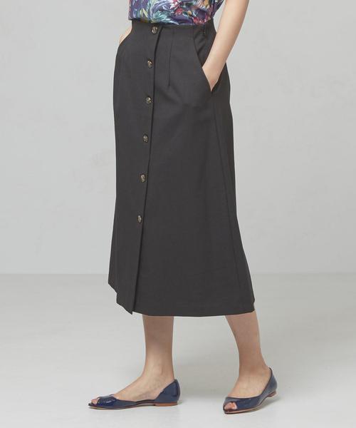 <yangany>P/LIドビー ボタンスカート