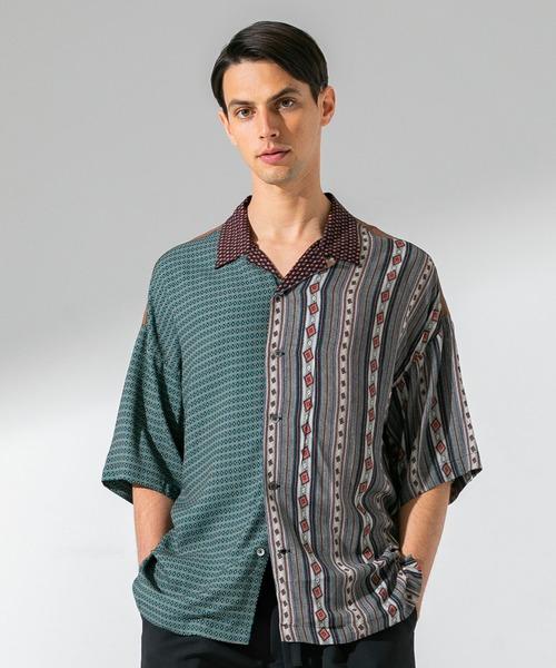 【初回限定】 ビンテージパネルオープンカラーシャツ(シャツ/ブラウス)|UNITED TOKYO(ユナイテッドトウキョウ)のファッション通販, 印鑑の印章立花:4aaab491 --- hausundgartentipps.de