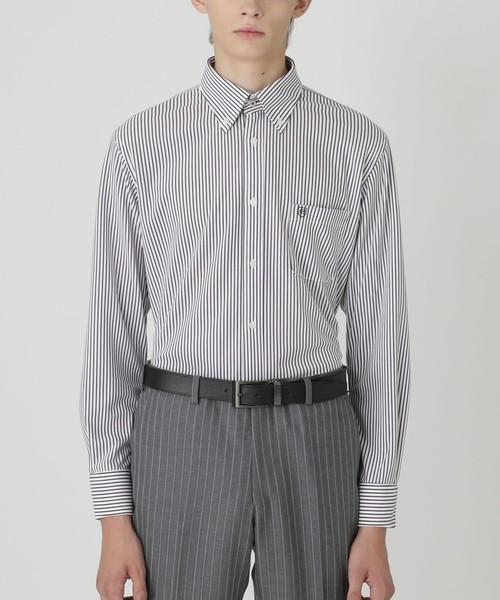 『2年保証』 【イージーケア/】ジャージーストライプボタンダウンシャツ(シャツ/ブラウス) LABEL BLACK|BLACK LABEL CRESTBRIDGE(ブラックレーベル・クレストブリッジ)のファッション通販, 悪党の店 【卍】 バースジャパン:6cf023eb --- pyme.pe