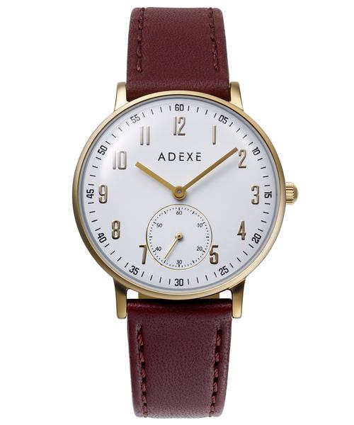 【ADEXE/アデクス】7series 二針・スモールセコンド付き 2043C BDP