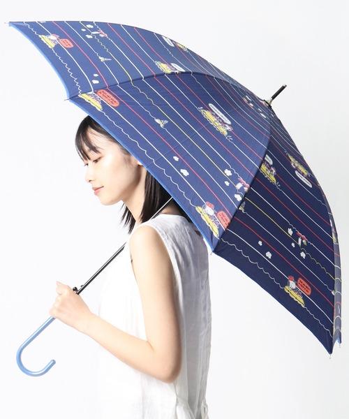 【 PEANUS / ピーナッツ 】60㎝傘 雨傘/ジャンプ式長傘/グラスファイバー骨・撥水 20OPC-SN OGW