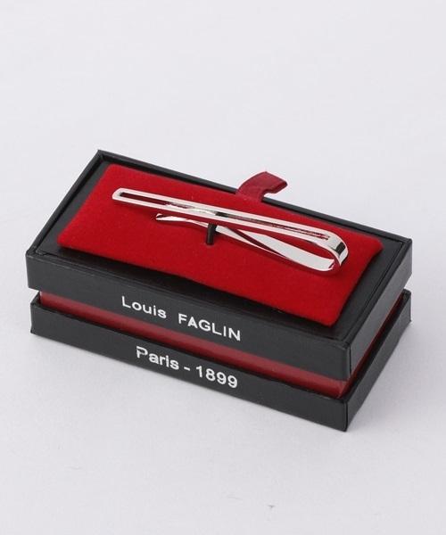 LOUIS FAGLIN: スクエア ネクタイピン