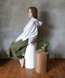 a.depeche(アデペシュ)のCollected-wood round high stool(家具)