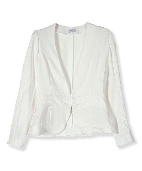 【保障できる】 【セール】レースコンビジャケット(その他アウター)|NINE(ナイン)のファッション通販, Gnetアキバ:8c0fc369 --- rise-of-the-knights.de