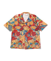 <DROLE DE MONSIEUR> MARBLED SHIRT/シャツ