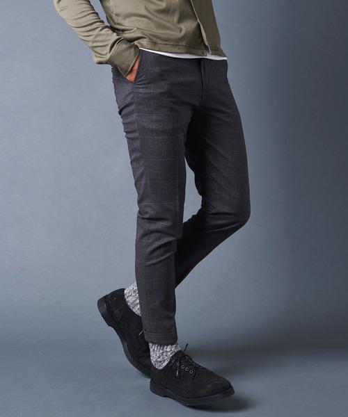 割引発見 T/R W GLEN CHK GLEN TAPERED W TAPERED PANTS:グレンチェックテーパードダブルパンツ(パンツ)|Magine(マージン)のファッション通販, 亜熱帯からの贈り物。奄美市場:480255a8 --- blog.buypower.ng