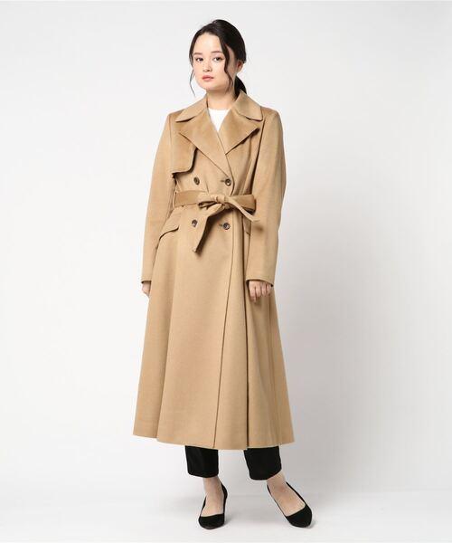 超可爱の カシミヤ100ドレスコート(その他アウター)|ANAYI(アナイ)のファッション通販, フラコスメ:306970ae --- genealogie-pflueger.de