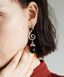<SOPHIE BUHAI>SPIRAL EARRINGS SILVER/ピアス