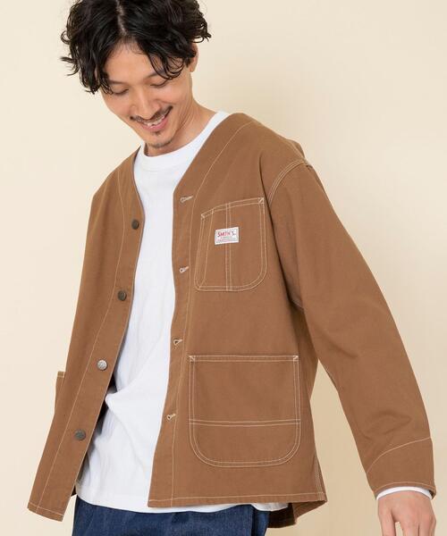 SMITH'S別注ダックノーカラーカバーオールジャケット(その他⇒WEB限定カラー)#