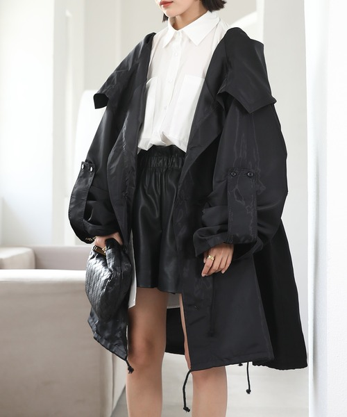 【chuclla】【2021/SS】Oversized light coat chw1442