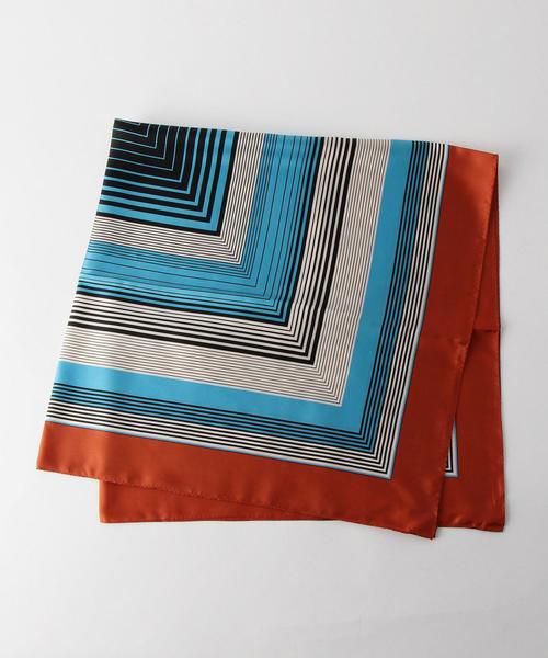 【otonaMUSE12月号掲載】Le Vernis(ルベルニ)オールドライン スカーフ / バンダナ
