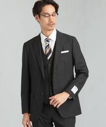 LANEROSSI へリンボーン 2B S/BW NTHP スーツジャケット