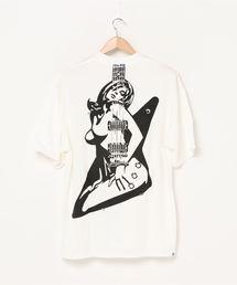 GUITAR GIRL オーバーサイズTシャツホワイト