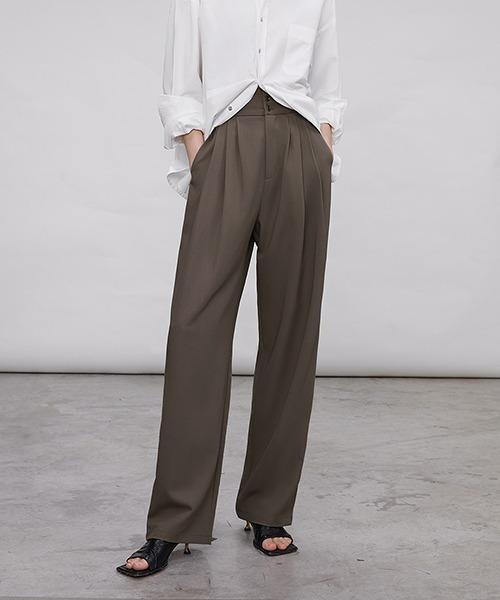 【chuclla】High waist 3tack pants sb-4 chw1443