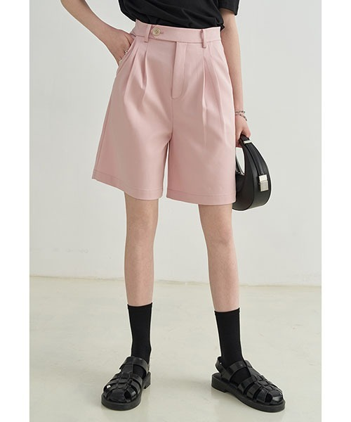 【Fano Studios】【2021SS】high waist color suit shorts FX21K114