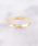 NOIR DE POUPEE(ノワールドプーペ)の「K10 リーフ ピンキーリング(リング)」|詳細画像