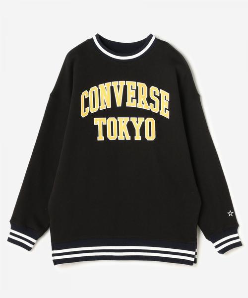 CONVERSE TOKYO/コンバーストウキョウ カレッジプルオーバースウェット