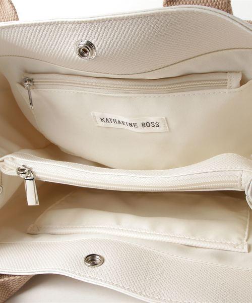 【KATHARINE ROSS】ショルダー付きトートバッグ