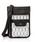 DECADE(ディケイド)の「ファブリックxリアルレザー・パスポートケースショルダーバッグ DECADE(No-01199)Passport Case Shoulder Bag(ショルダーバッグ)」|ホワイト系その他3