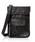 DECADE(ディケイド)の「ファブリックxリアルレザー・パスポートケースショルダーバッグ DECADE(No-01199)Passport Case Shoulder Bag(ショルダーバッグ)」|ブラック系その他3