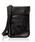 DECADE(ディケイド)の「ファブリックxリアルレザー・パスポートケースショルダーバッグ DECADE(No-01199)Passport Case Shoulder Bag(ショルダーバッグ)」|ブラック