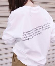 [ Tanacana (タナカーナ) ] SC ロゴ ロングスリーブ Tシャツ