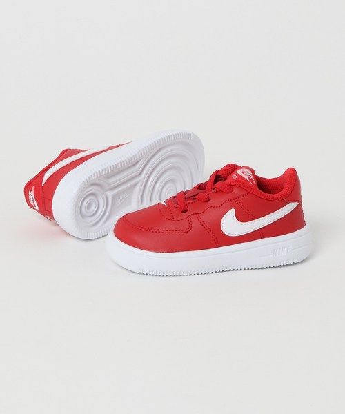 NIKE FORCE 1 '18 (TD) (UNIVERSITY RED/WHITE) 【SP】
