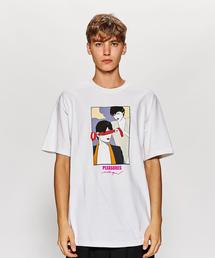 <PLEASURES × PATRICK NAGEL> BLIND TEE/Tシャツ