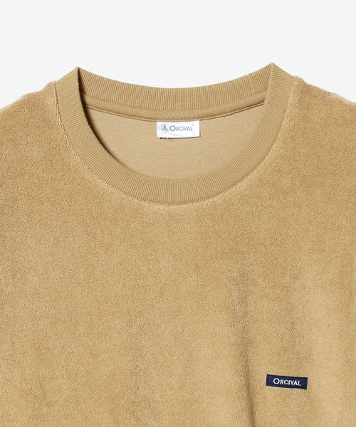 ORCIVAL / ワンポイント パイル Tシャツ <MEN>