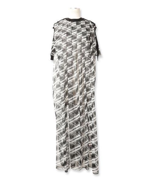 【最新入荷】 MESH BORDER BORDER DRESS/メッシュボーダードレス(ワンピース) mintdesigns(ミントデザインズ)のファッション通販, 石巻市:f954edbe --- 5613dcaibao.eu.org