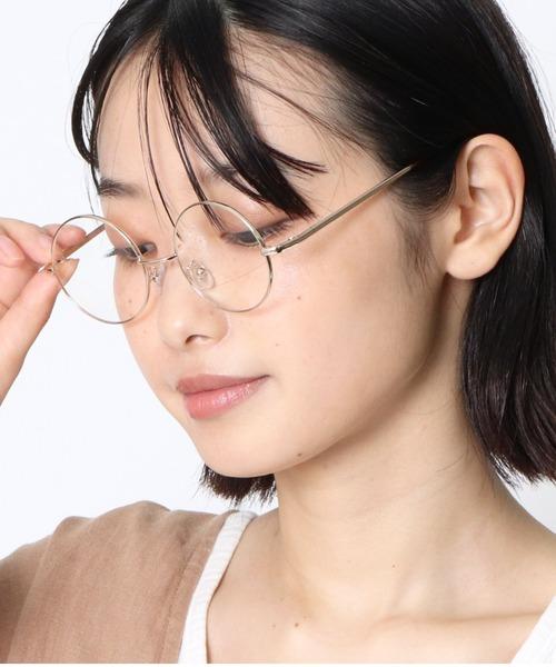 ラウンド 伊達眼鏡 GLASSES 120C SPI