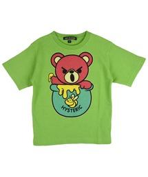 HONEY BEAR Tシャツ【L】グリーン