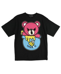 HONEY BEAR Tシャツ【L】ブラック