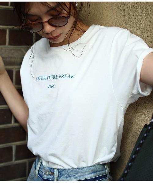 TODAYFUL(トゥデイフル)の「1968Tシャツ(Tシャツ/カットソー)」 オフホワイト