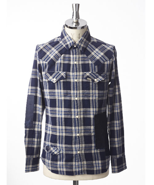 PATCHWORK CHECK WESTERN