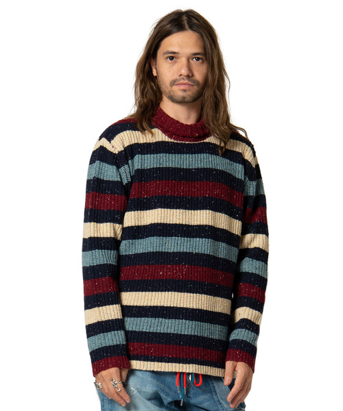 【超お買い得!】 Falit border knit / ファリットボーダーニット, ジュエリーメイ(旧名:山橋質店) 38681288