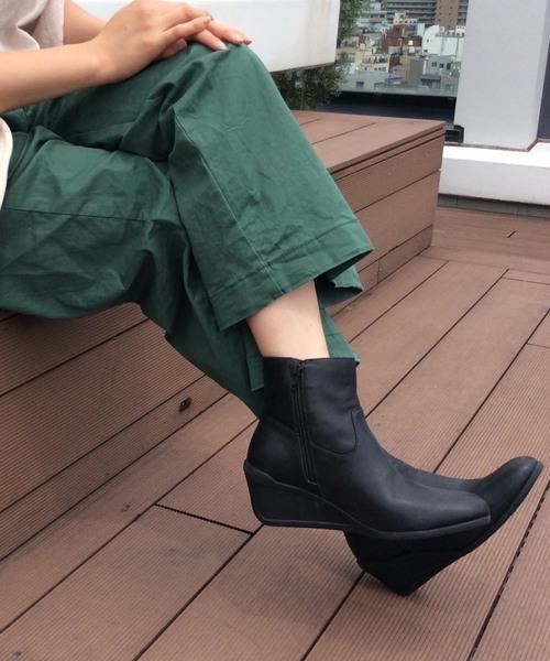 本物 【セール et】ウエッジヒールショートブーツ(ブーツ)|ing(イング)のファッション通販, カメラ会館:913934e2 --- ulasuga-guggen.de