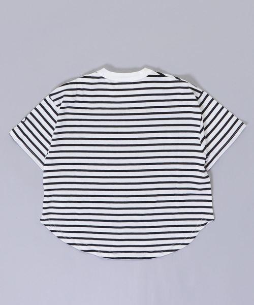 909411 ボーダーTシャツ